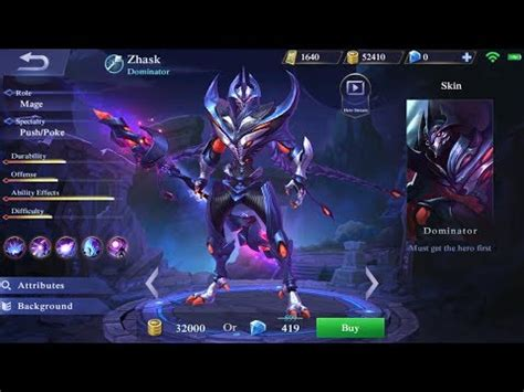 discord mobile legend first look at new hero zhask live gameplay mobile