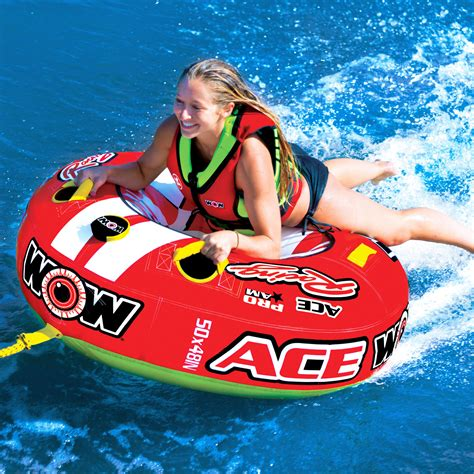crazy boat tubes ace racing wow world of watersports