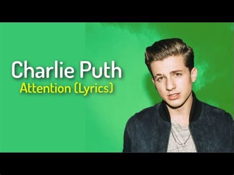 download mp3 attention of charlie puth charlie puth attention lyrics youtube