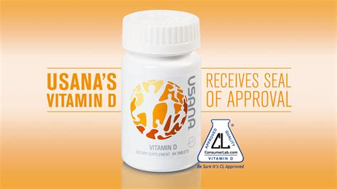 Vitamin Usana usana s vitamin d receives seal of approval what s up