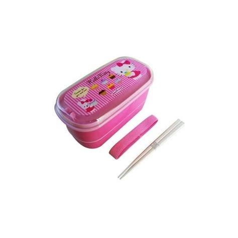 Sanrio Japan Lunch Box 1 Japanese 2 Tier Hello Bento Lunch Box For Bento Box