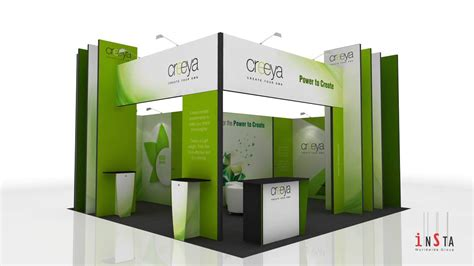 Booth 3 In 1 by Exhibition Booth Decoration Corporate Fair Stall