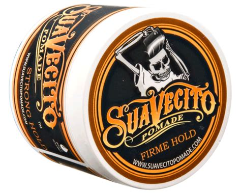 Pomade Hold by Suavecito Pomade Firme Strong Hold Pomade Water Based