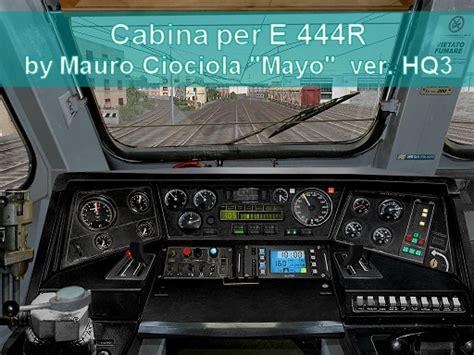 e444 cabina tsh trainsimhobbytsh sezione cabine
