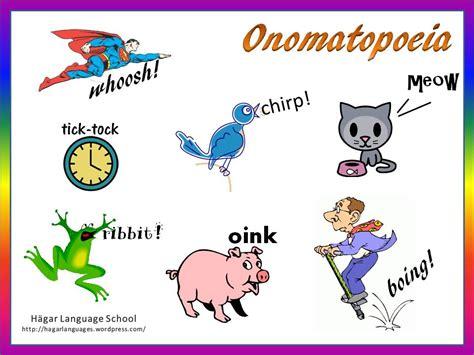 exle of onomatopoeia onomatopoeia h 228 gar language school