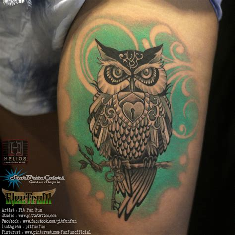interesting owl tattoo pictures to pin on pinterest