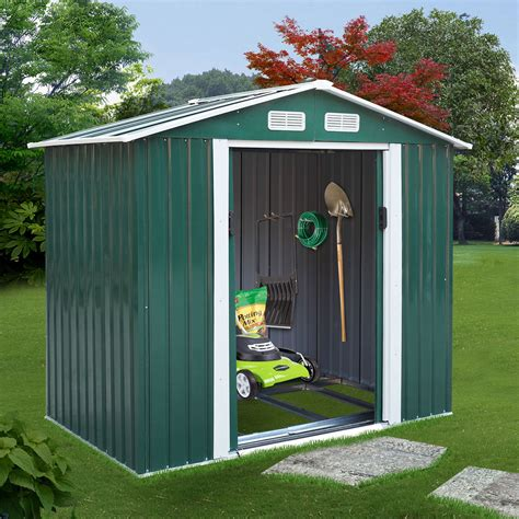 jaxpety    large outdoor steel storage shed