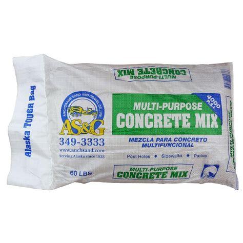 anchorage sand gravel 60 lb pea gravel concrete mix 273