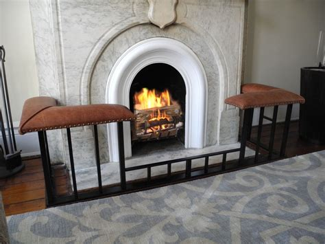 Fireplace Accessories Ct by Hovey Fireplace Benches New Canaan Ct