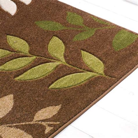 Lime Green And Brown Area Rugs Brown Green Rug Roselawnlutheran