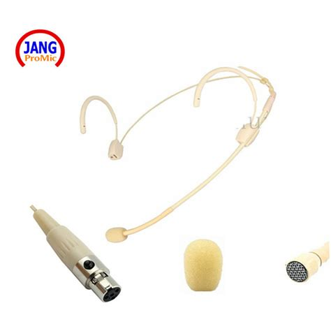Mini Microphone Headset Karaoke Conferenc Murah professional beige headset condenser microphone conference