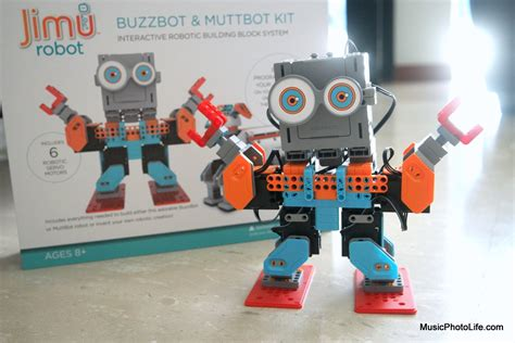 the ubtech jimu robots builderã s guide how ubtech jimu robots review buzzbot muttbot kit