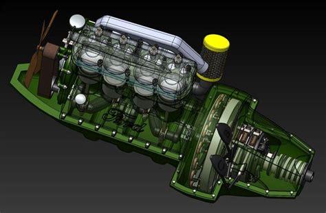 ford model t engine 190 ford model t engine stl step iges solidworks