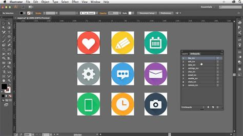 design icons in illustrator creating icons with illustrator