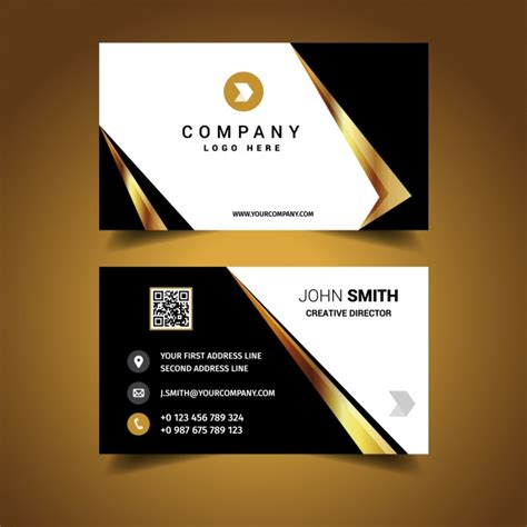designer visiting cards templates luxury business card design vector free