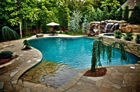 backyard beach pool 18 divine beach entry pool design ideas for heaven in your