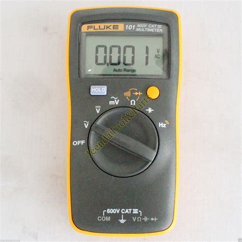 Multimeter Fluke 101 new fluke 101 portable handheld digital multimeter f101