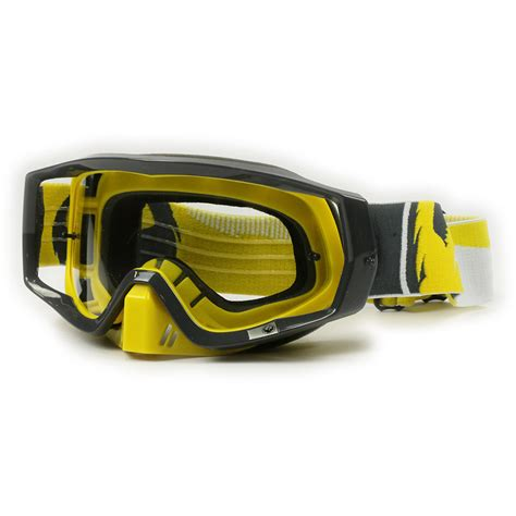 motocross goggle dragon new mx vendetta dirt bike incline yellow black