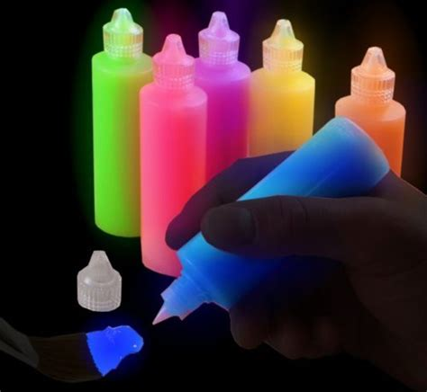 glow in the paint buy india 6 pack of glow in the fabric paint buy