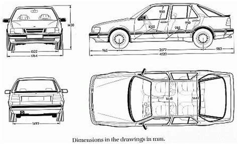 Car Dimensions In Feet by Car Dimensions In Feet Probrains Org