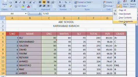 Excel Spreadsheet Courses by Courses On Excel Spreadsheets Laobingkaisuo