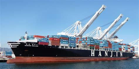 shipping boat picture hanjin shipping wikipedia