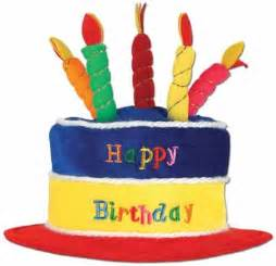 bright color birthday cake hat webhats com