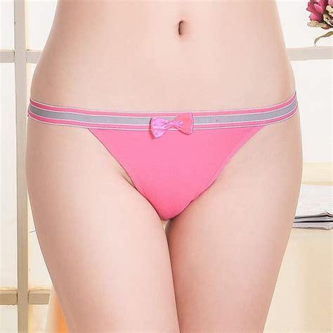 comfortable cotton panties wholesale sales lady bowknot comfortable breathable cotton