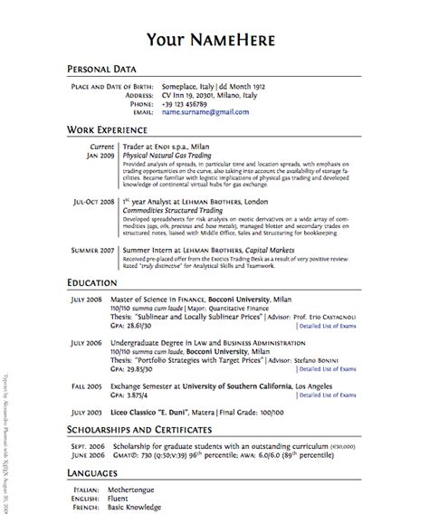 Cv Czy Lebenslauf how to write a freelance writer resume freelance writing