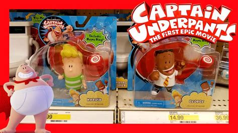 epic film toys captain underpants the fisrt epic movie toy hunt target
