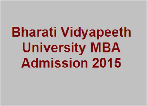 Bharati Vidyapeeth Delhi Mba Distance Learning by Educational Minglebox