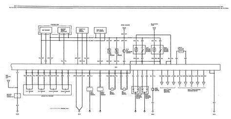 acura legend 1992 wiring diagram fuel