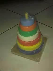 Mainan Edukasi Menara Pelangi by Mainan Usia 1 2 Tahun Gerai Mainan Edukasi