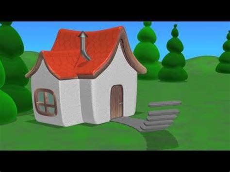 3d house animation youtube tutitu creates a house 3d animation video for toddler