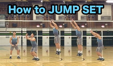 volleyball setter dump drills jump set technique how to set a volleyball tutorial