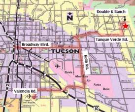 maps tucson arizona karrels k ranch tucson az bed and breakfast