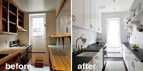 cheap kitchen reno ideas before after 15 creative kitchen renovations the kitchn