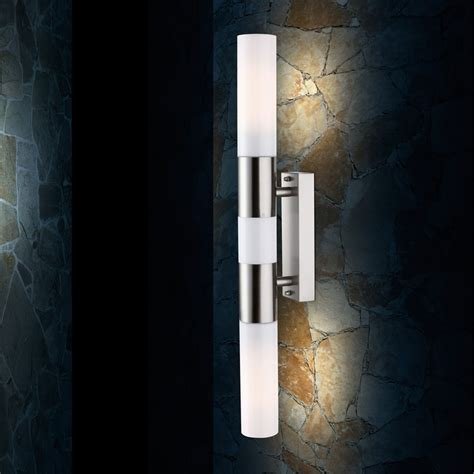 Leuchte Badezimmer by Led Edelstahl Bad Wand Leuchte Flur Le Opal Badezimmer