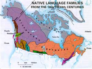 map of aboriginal groups in canada indigenous languages in canada the canadian encyclopedia