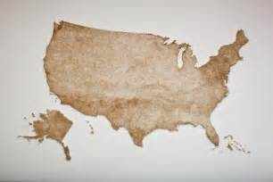 us map wood united states map made from thousands of wood matches by