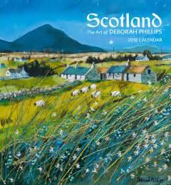 Calendar 2018 Artist Scotland The Of Deborah Phillips 2018 Wall Calendar