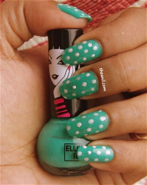 nail art tutorial in hindi dots with indian nail polish nail art gallery step by
