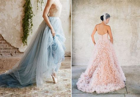 rose themed wedding dress mood board serenity and rose quartz wedding inspiration