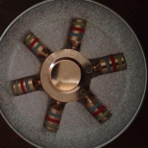 Fidged Spinner Metalic I You 14 fidget spinner other brass metalic 6 fidget spinner from phil s closet on poshmark