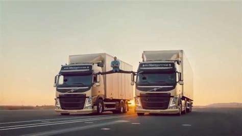 volvo truck advert jean claude van damme volvo truck commercial youtube