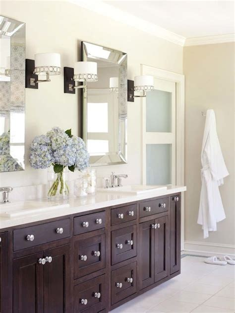 beveled mirrors for bathroom bathroom beveled mirror decor how to double sink better