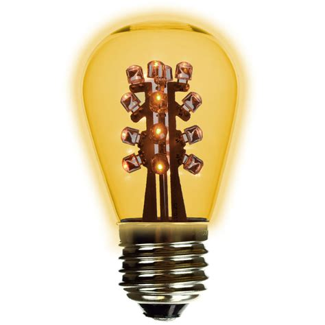 yellow led light bulbs s14 yellow led plastic light bulb