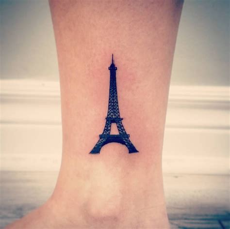 eiffel tower tattoos 15 eiffel tower tattoos for who truly adore