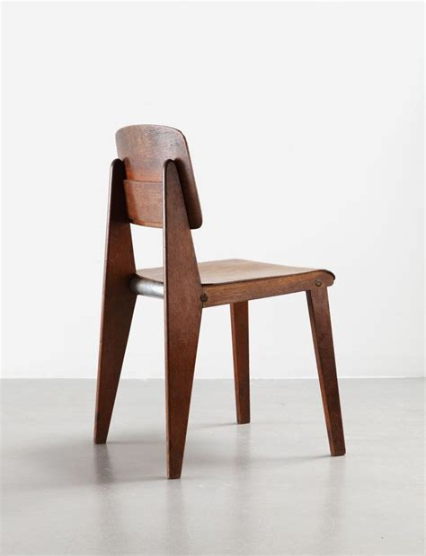 Wooden Armchair Designs by A For Jean Prouv 233 Wooden Chairs Design And