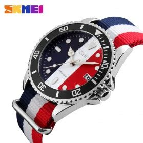 Skmei Casual Colorful Army Water Resistant 30m 2 skmei jam tangan analog pria 9133c white